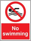 No swiing sign