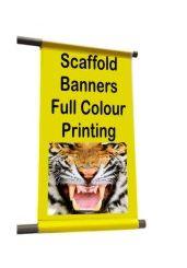Scaffolding Banner 1m x 2m PVC